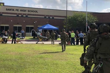 10 Killed and 10 Hurt in Texas School Shooting