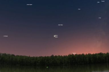 The conjunction of Jupiter and Saturn- after 400 years