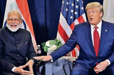 Trump Calls Narendra Modi 'Father of India'