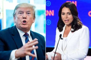 Trump Slams Tulsi Gabbard for Alleging That He Supports Al-Qaeda