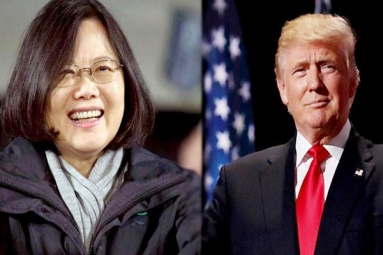 Donald Trump speaks with Taiwan's leader!