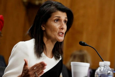 """We Don't Trust Putin, We Never Will"": Nikki Haley"