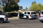 Two car collision in Phoenix resulting in 5 seriously injured including two children