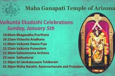 Vaikunta Ekadashi Celebration - MGTOA