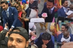 ranveer singh giving flower to elderly woman, ranveer singh giving flower to elderly woman, watch video of ranveer singh giving a flower to an elderly woman is winning hearts, Ranveer singh
