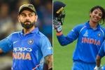 wisden almanack 2019, wisden cricketer of the year 2019, virat kohli smriti mandhana named wisden leading cricketers of the year, Virat kohli