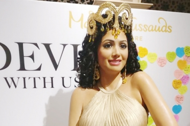 Madame Tussauds Gets the Wax Idol of Sridevi