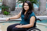 virali modi, virali modi at delhi airport, wheelchair bound indian american forced to stand at delhi airport, Gulf