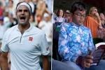 Roger Federer Vs Rafael Nadal Semi-Final, Roger Federer Vs Rafael Nadal Semi-Final, roger federer vs rafael nadal semi final indian origin boy seen engrossed in his book during wimbledon 2019 clash of tennis, Social media