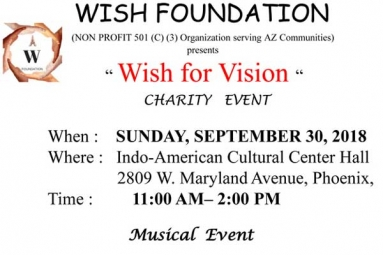 Wish for Vision - Charity Event