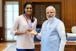 pv sindhu, pv sindhu, india s pride narendra modi meets world champion pv sindhu, Pv sindhu