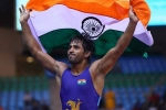 Indian wrestlers in world wrestling championships, World Wrestling Championships, indian wrestlers all set for world wrestling championships, Bajrang punia