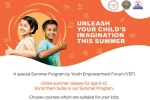 AASHI HEMDEV, SIDHARTH UPPULURI, upscale your skills this summer with fun summer activities by yef, Lifestyle