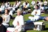 Yoga Day Celebrations Begin Across the Globe