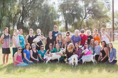 Gilbert goat yoga classes set new trend!
