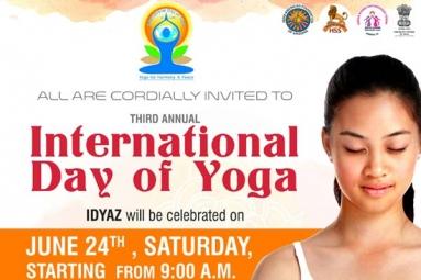 Third Annual International Day of Yoga
