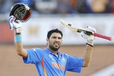 """You pray, I will hit six sixes again"" - Yuvraj Singh"