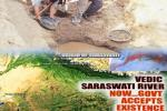 Holy Saraswati river sprouts to life after 4,000 years
