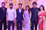 Tollywood celebrities, Naga Chaitanya, nag hosts a lavish reception for chaitu and samantha, Tollywood news