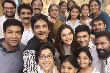 Nagarjuna Cuts down Action Sequences in 'Manmadhudu 2'