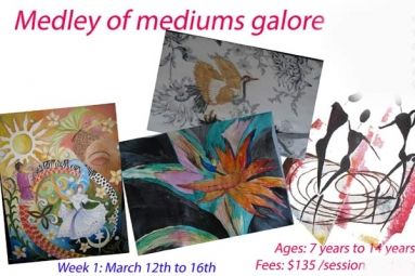 Medley of Mediums Galore