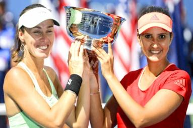 Sania Mirza And Martina Hingis Wins US Open