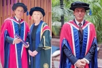 Shah Rukh Khan receives doctorate, London university, shah rukh khan receives honorary doctorate in philanthropy by london university gives a moving speech on kindness, World economic forum