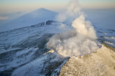 Scientists Discovered 91 Volcanoes Beneath Antarctica