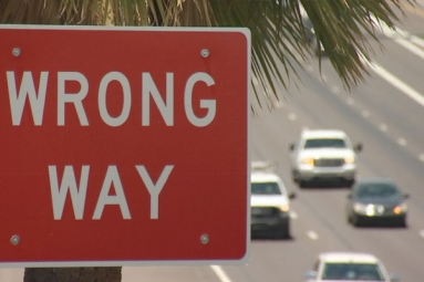 Arizona Transportation Department to install a wrong way driver detection system