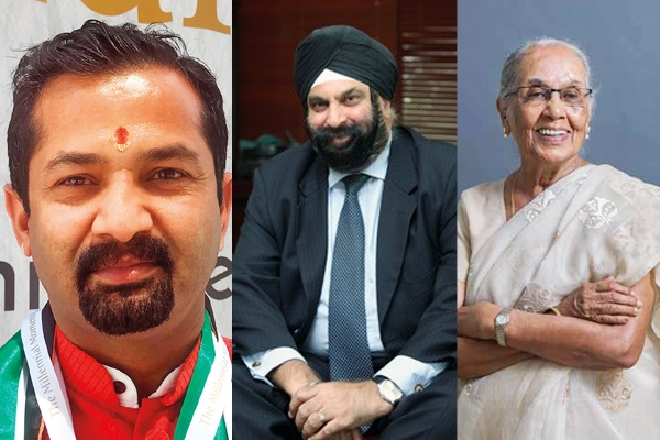 3 Indians from UAE Receive Pravasi Bharatiya Samman Awards