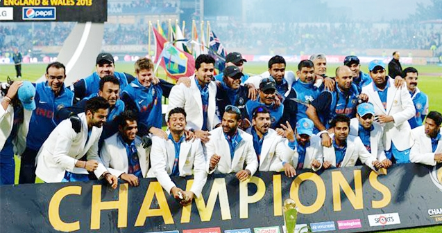 Champions India celebrates victory in Champions Trophy 2013!},{Champions India celebrates victory in Champions Trophy 2013!