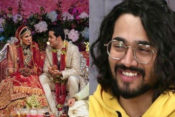 Comedian Bhuvan Bam Aka BB Vines Dubbed Akash Ambani and Shloka Mehta's Wedding and It's Hilarious