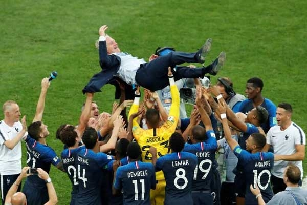 FIFA 2018: France Lifts Second World Cup