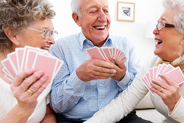 Play card games to help in stroke recovery!