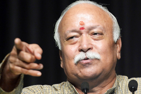 No force on anyone to say 'Bharat Mata ki Jai', says RSS chief