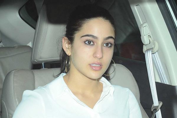 Sara Ali Khan all set for Debut