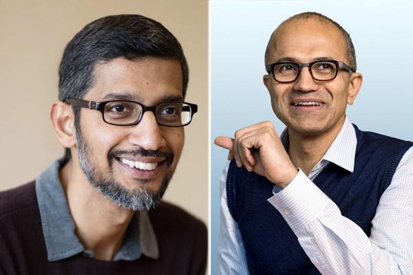 Satya Nadella Tops List of Best CEOs, Sundar Pichai Comes Third