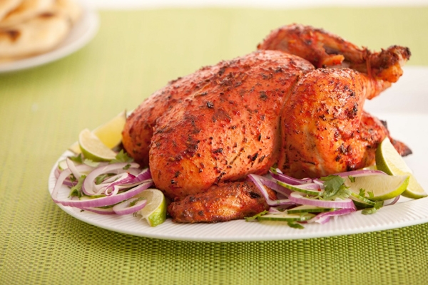 Tandoori Masala Roasted Chicken perfect for dinner