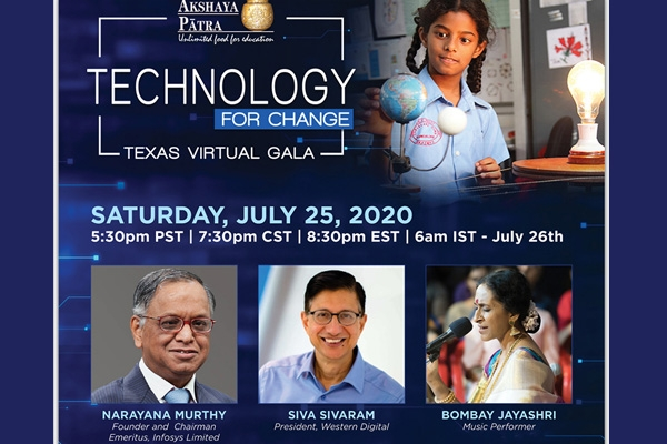 Technology for change by N R Narayana Murthy