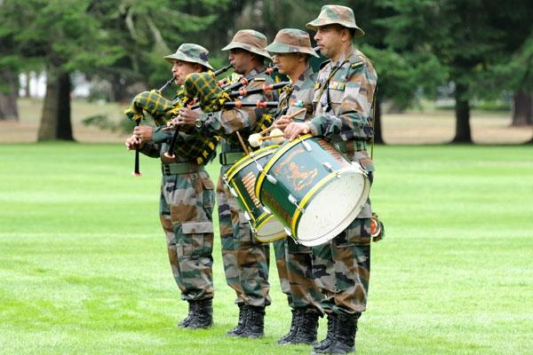 Watch: U.S. Army Band Plays Jana Gana Mana for Indian Soldiers