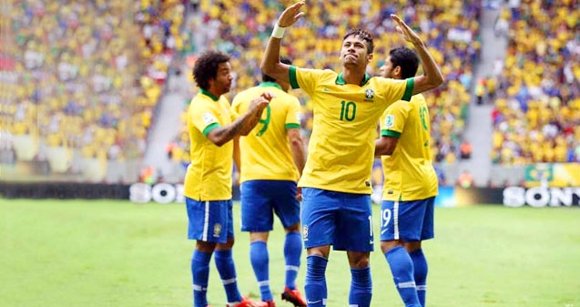 Brazil defeats Spain in Confederations Cup final!},{Brazil defeats Spain in Confederations Cup final!