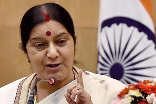 Sushma Swaraj appeals jobless Indian workers in Saudi Arabia to return home!